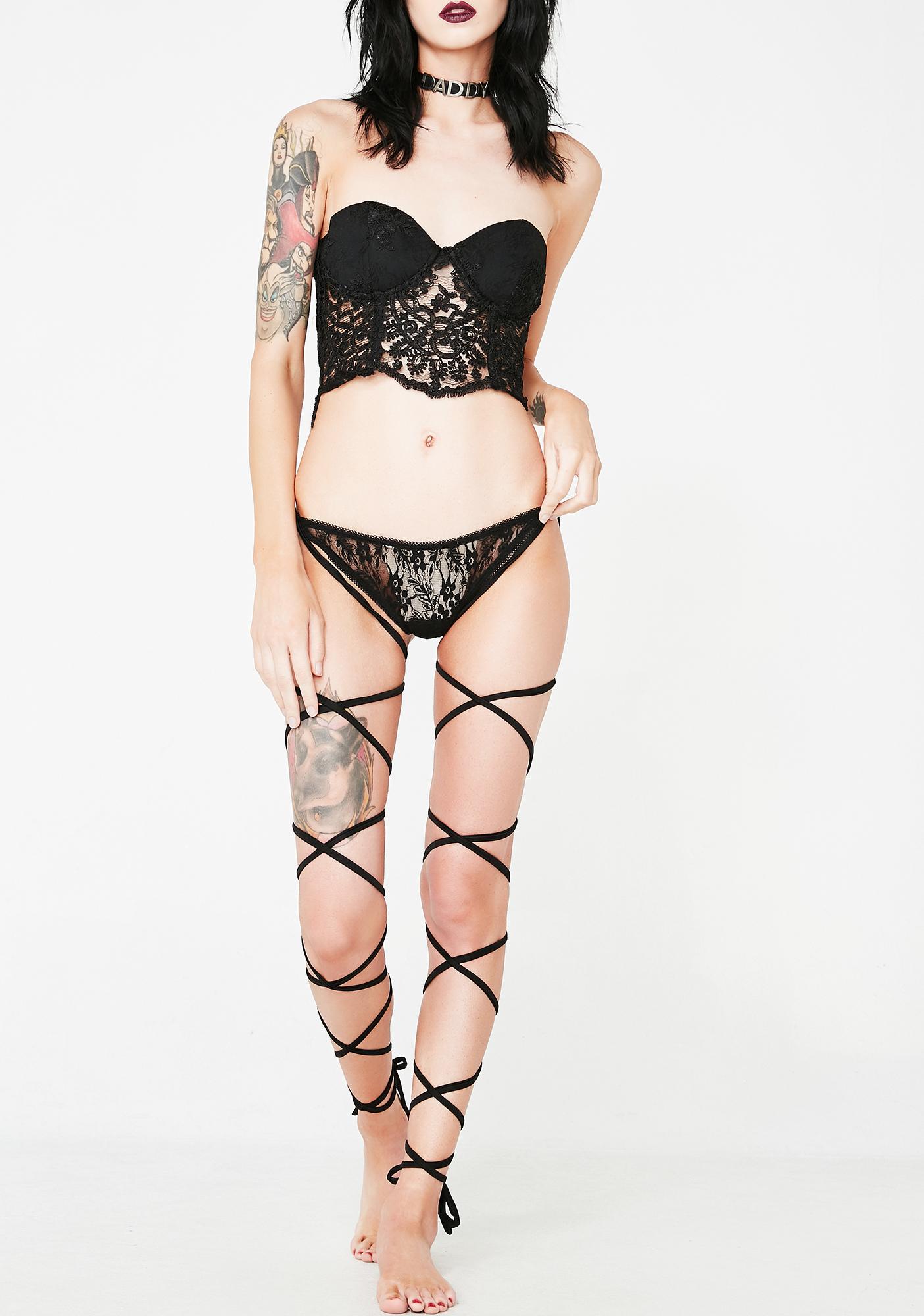 Sexxtopia Leg Wrap Panties