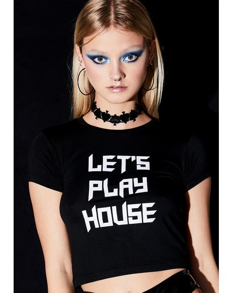 House Heaven Reflective Tee