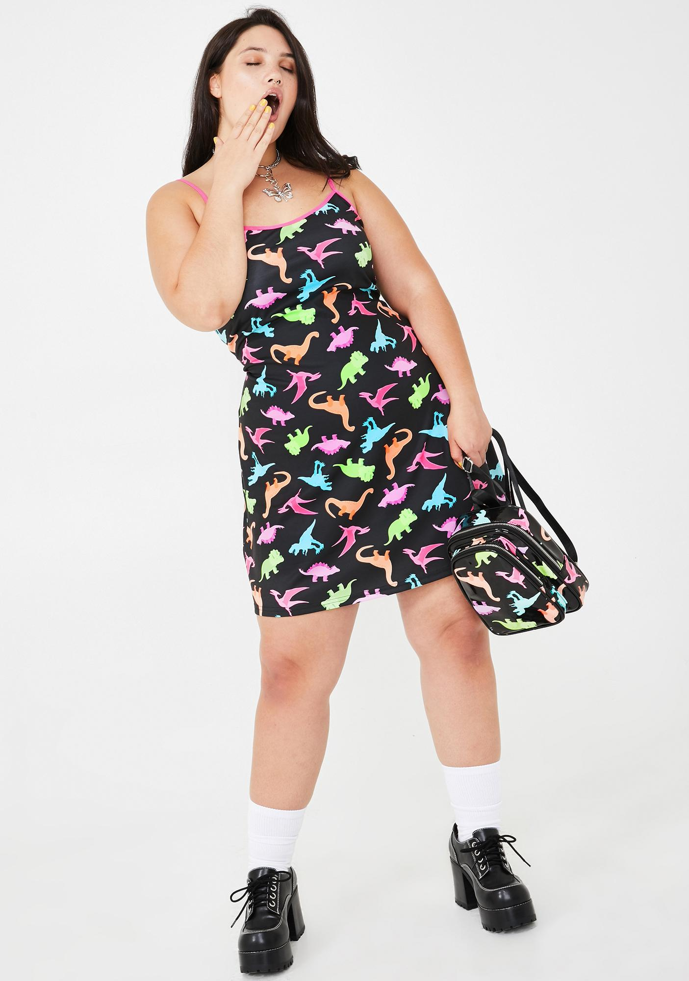 dELiA*s by Dolls Kill She's Dino-Mite Mini Dress