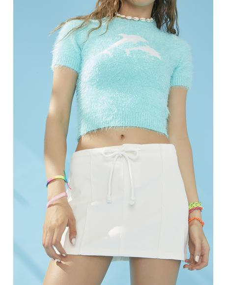 Ocean Air Mini Skirt