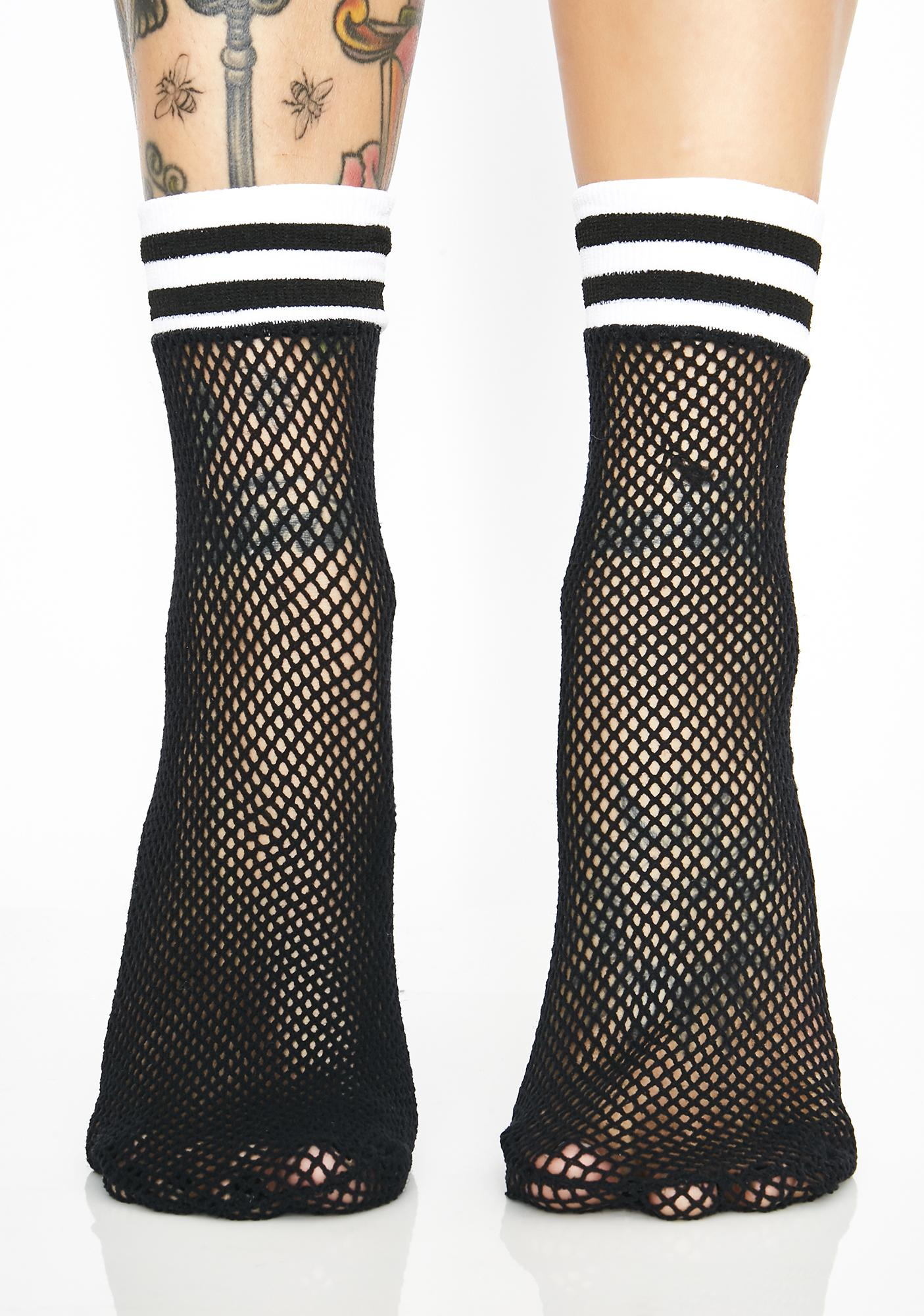 Slay N' Play Fishnet Socks