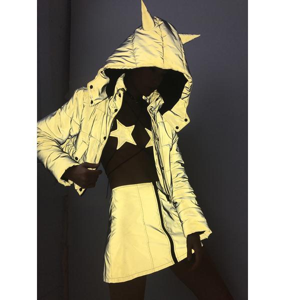Club Exx Savage Signalz Reflective Jacket