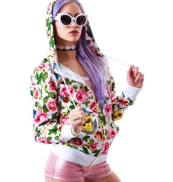 Joyrich Angelic Rich Floral Hoodie