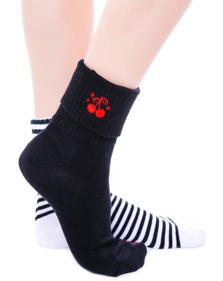 Cherries Socks Set