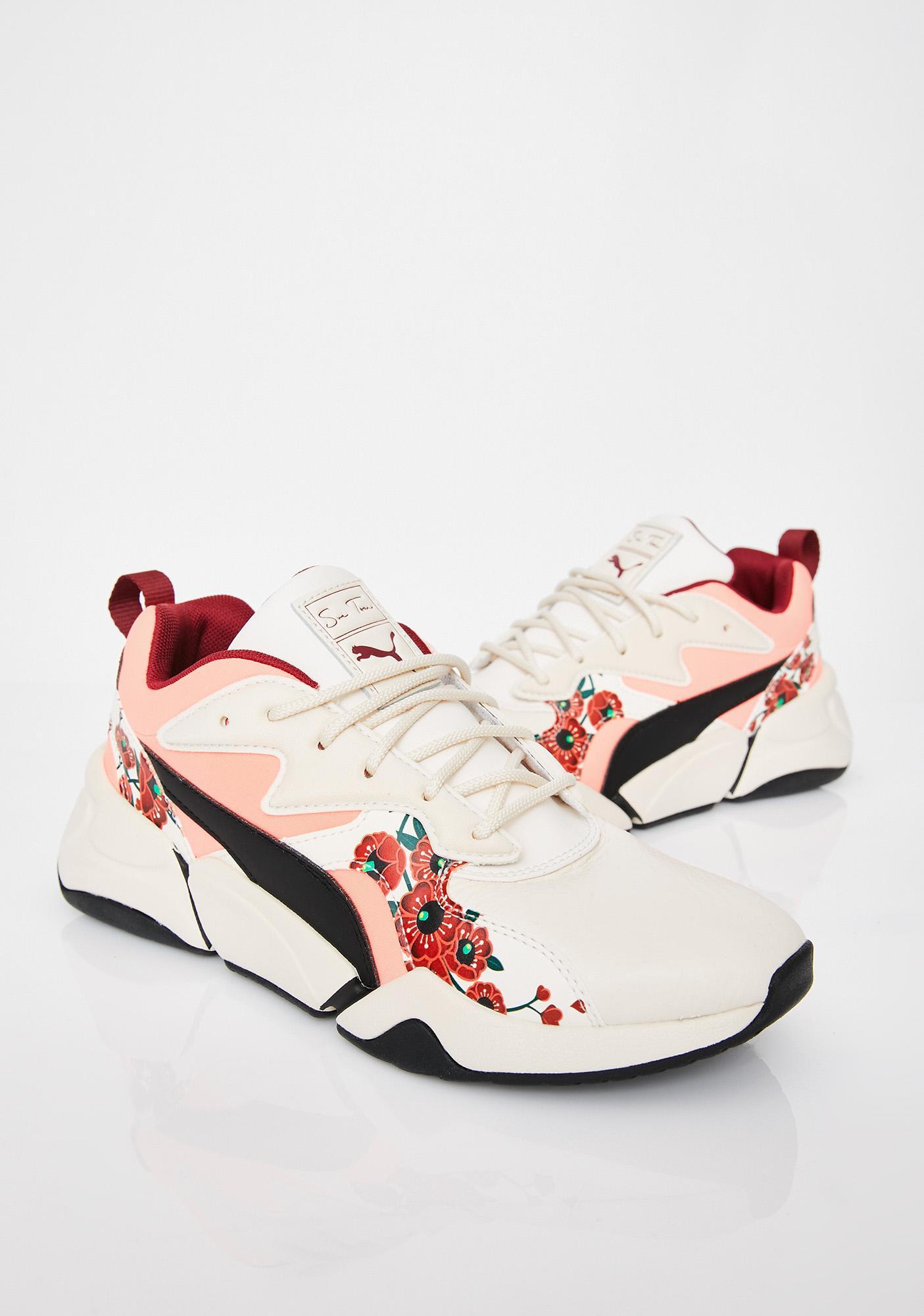 70192a087465 PUMA x S.Tsai Nova Cherry Bombs Sneakers