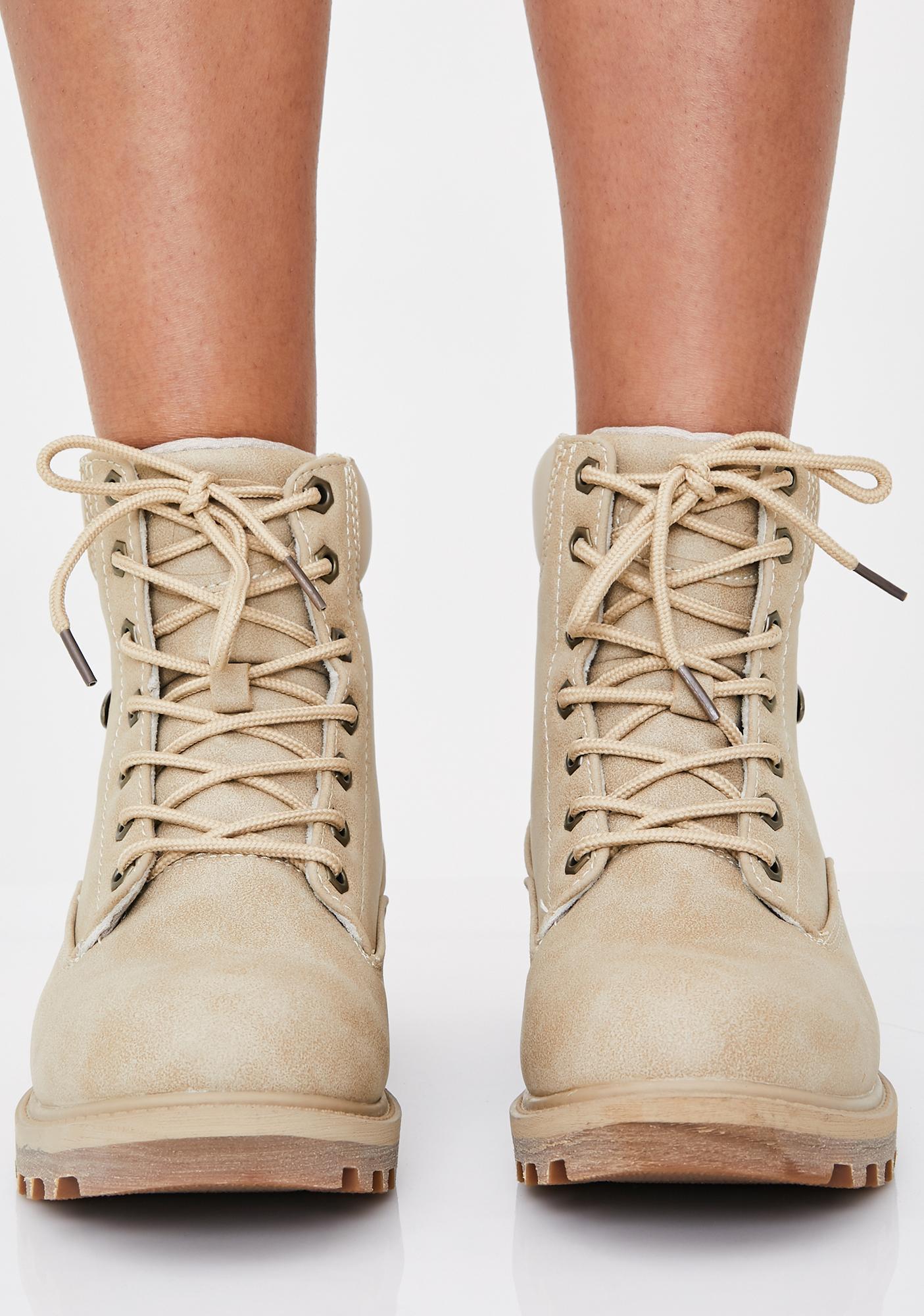 Lugz Sand Empire Hi WR Boots