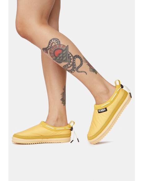 Yellow 222 Banda Mules