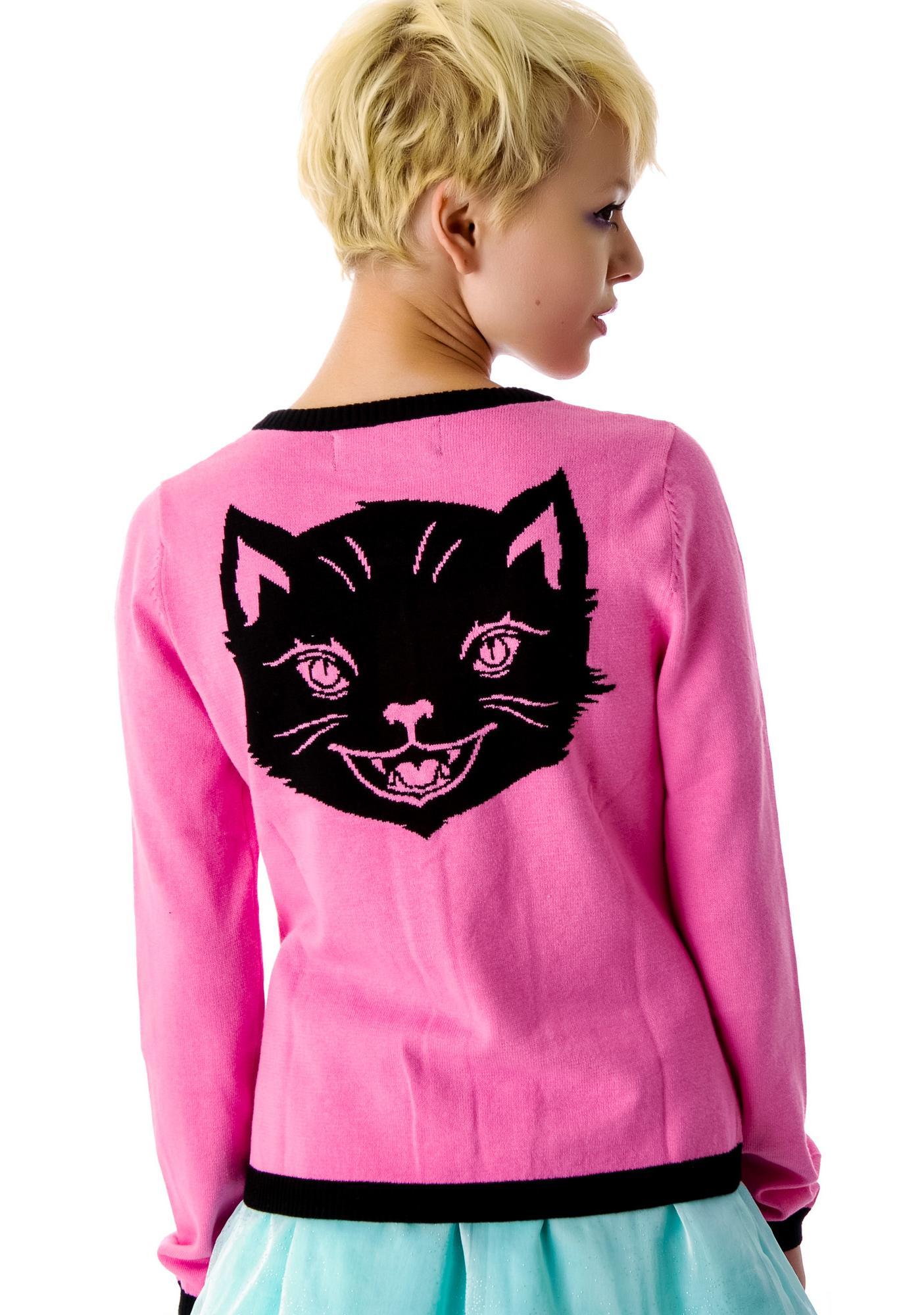 Sourpuss Clothing Hey Kitten Cardigan