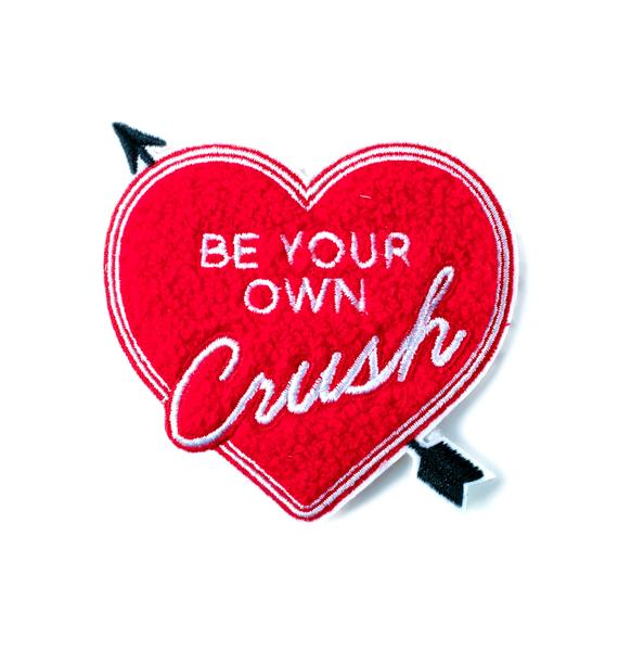 Yvng Pearl Be Your Own Crush Chenille Patch