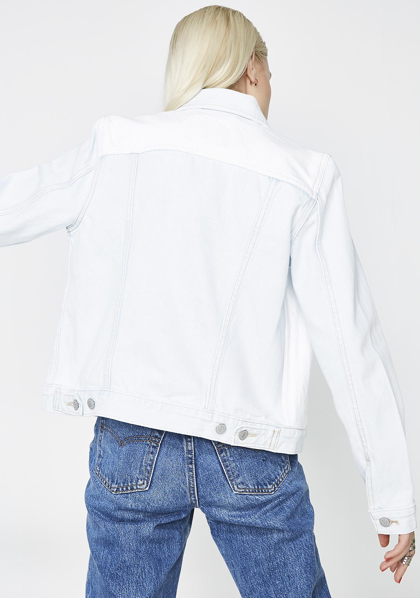 Levis Block Head Alternative Trucker Jacket