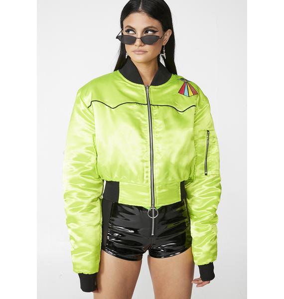Club Exx Alien Hunter Bomber Jacket