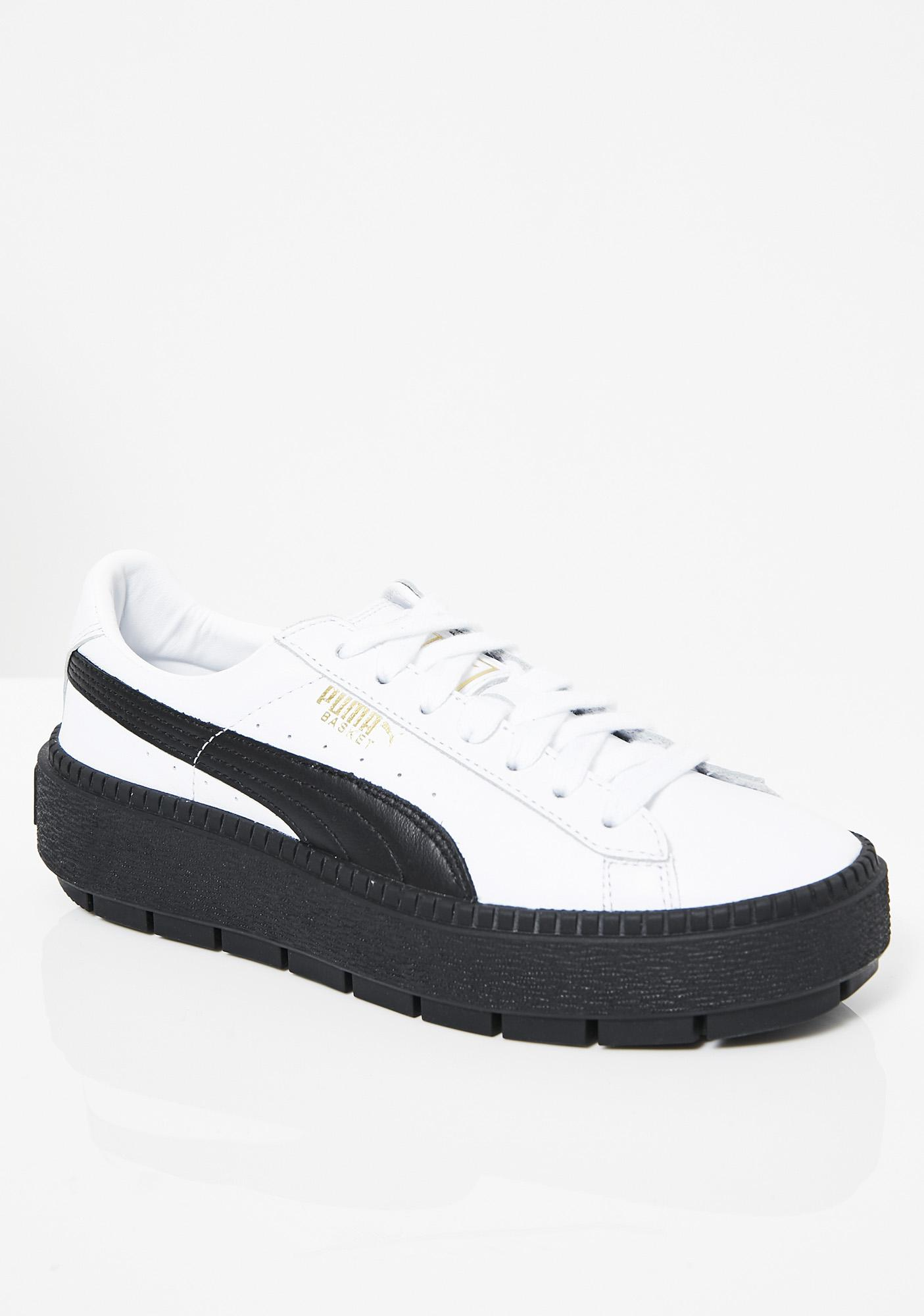 new concept c0223 89f60 Platform Trace Sneakers