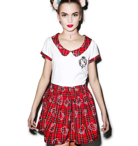 Japan L.A. Hello Kitty School Girl Top