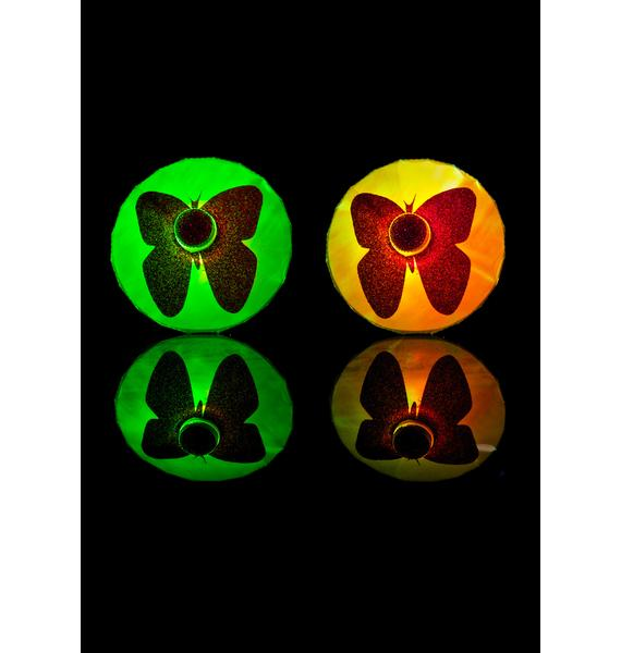 Sasswear Butterfly LED Pasties