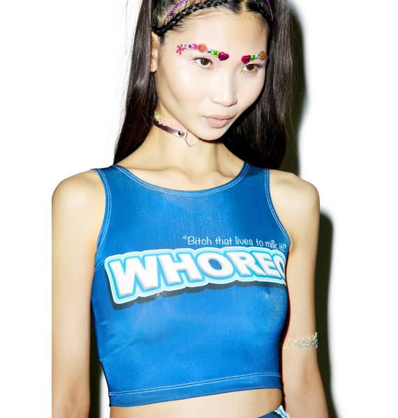 Twisted Bitches Whoreo Crop Top