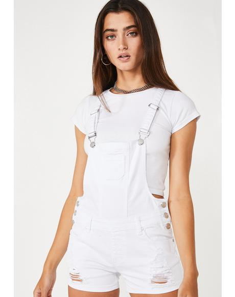 Candid Cutie Denim Shortalls