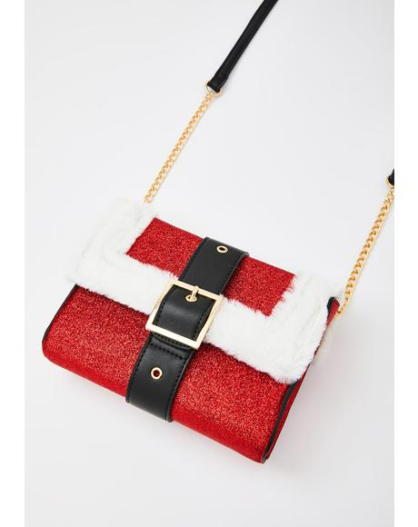Sass For Santa Crossbody Bag