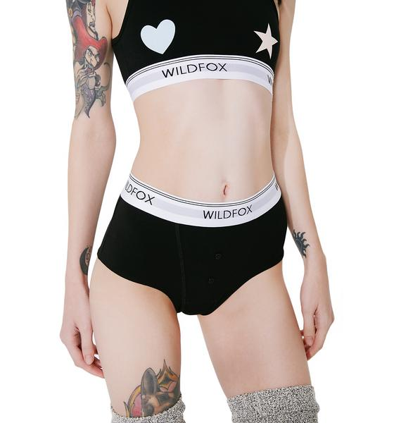 Wildfox Couture Heart And Star Tomboy Briefs