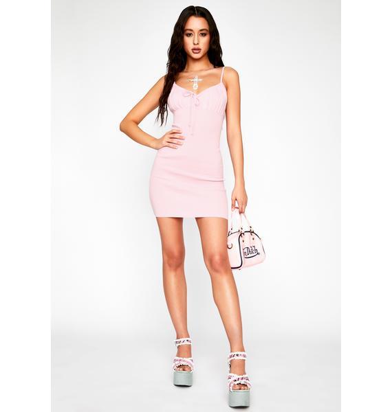 Pick Up Line Mini Dress