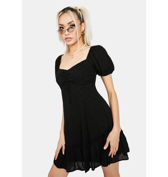 Starless Stay Peachy Babydoll Dress