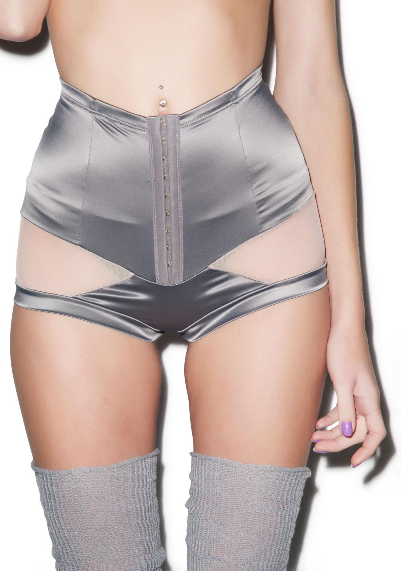 Love Haus Stripe Illusion High Waist Panty
