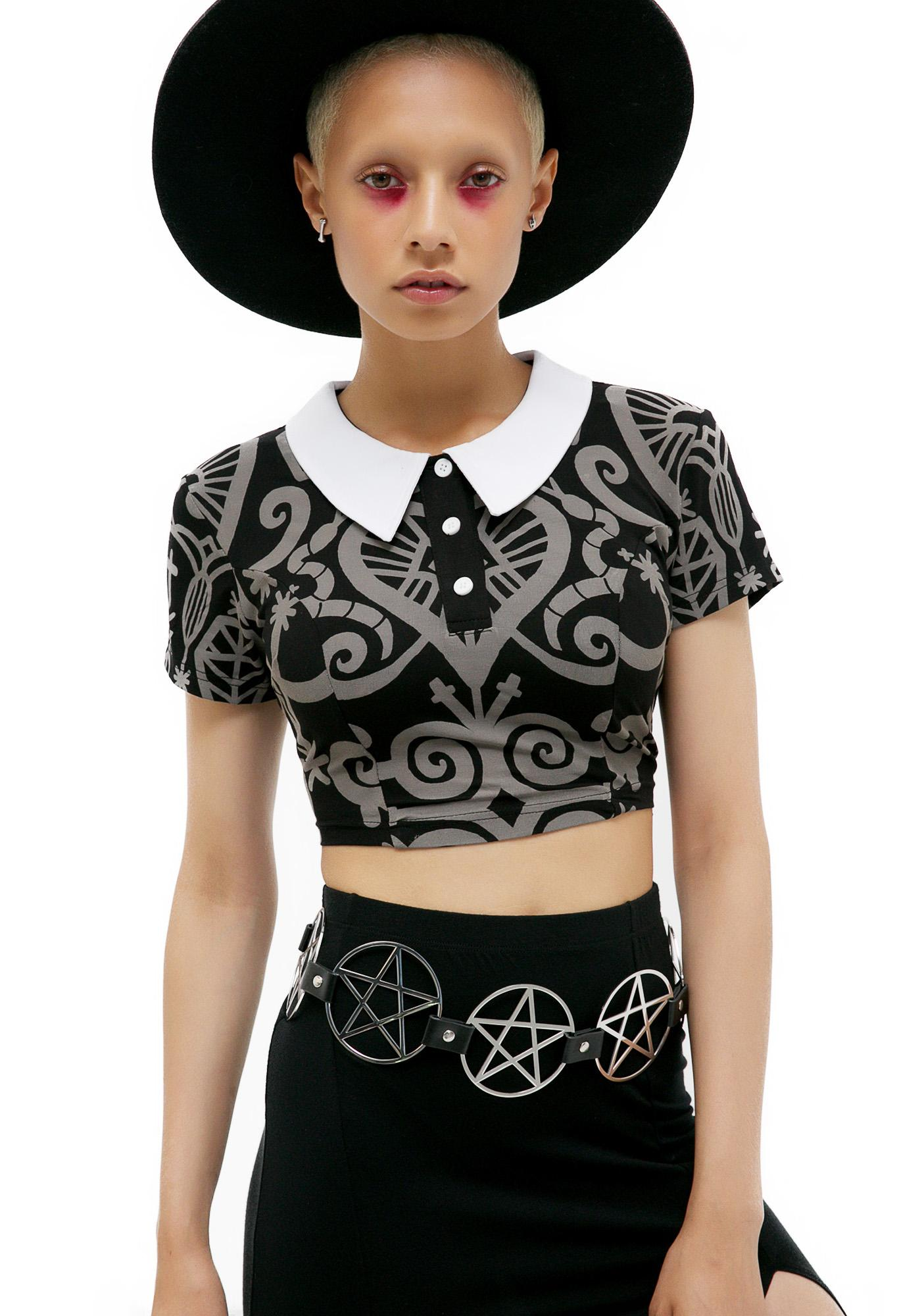 Killstar Pentagram Belt