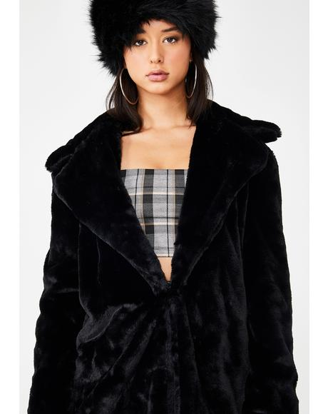 Eddy Faux Fur Jacket