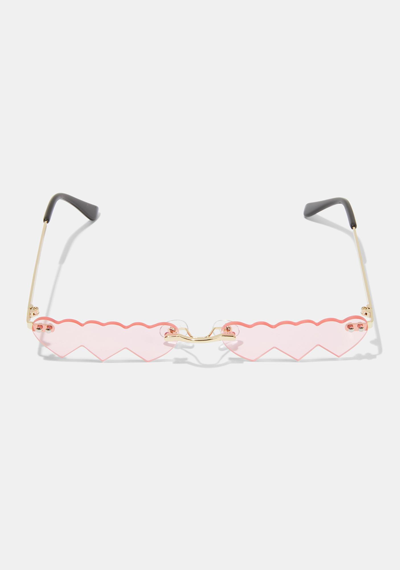 Baby Triple Threatz Heart Sunglasses