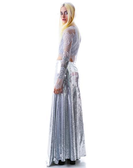 The Cecilia Maxi Sequin Skirt