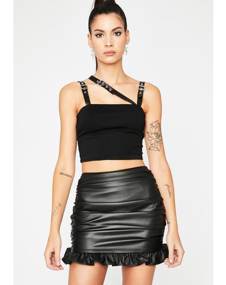Unholy Icing On The Cake Mini Skirt