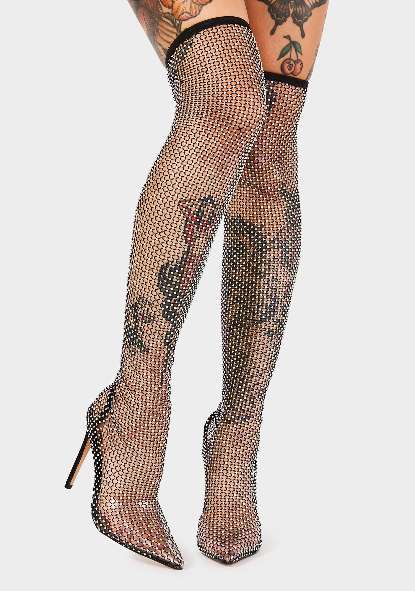 Dare Me Thigh High Boots