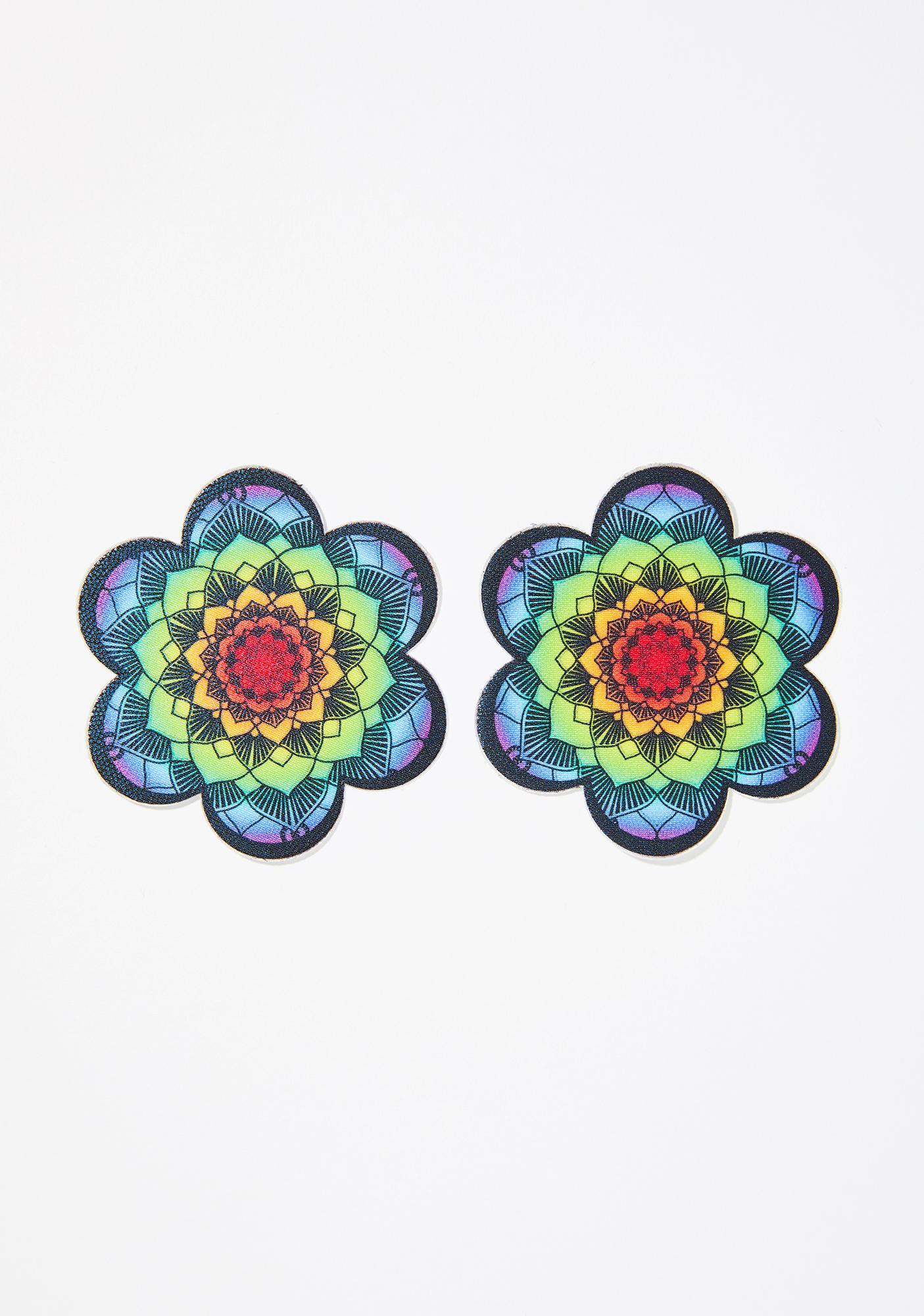 Pastease Rainbow Flower Mandala Pasties