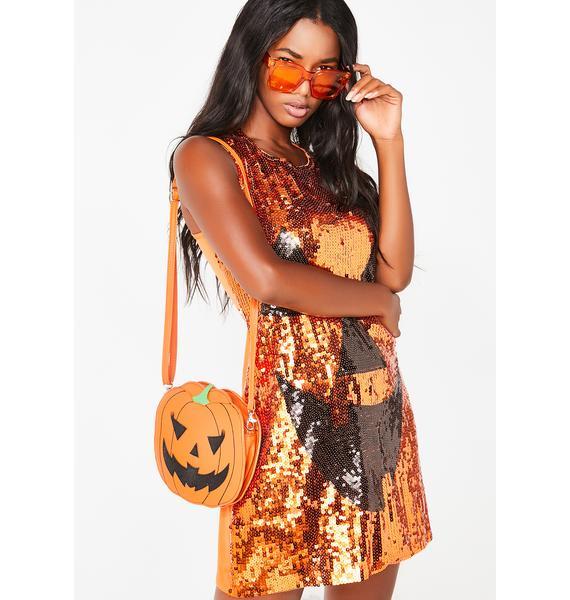 Hallo-Queen Pumpkin Costume