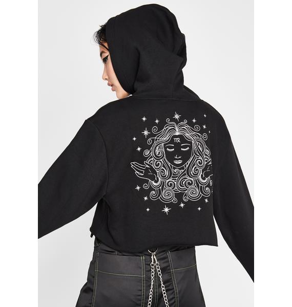 HOROSCOPEZ Virgo Territory Embroidered Hoodie
