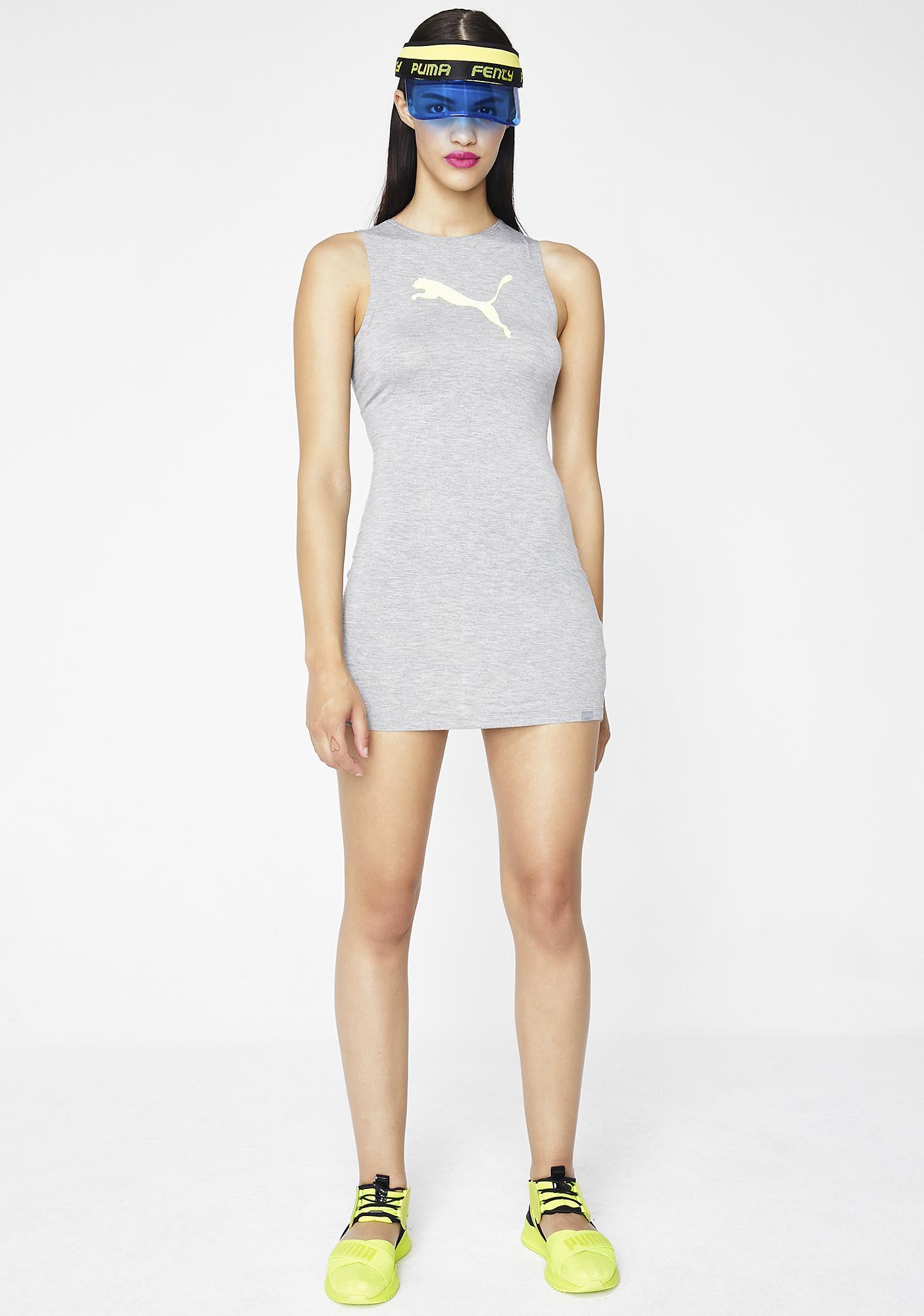 PUMA FENTY PUMA By Rihanna Full Zip Jersey Cover Up Dress