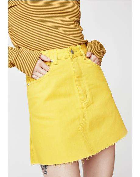 Mellow Sasha A-Line Skirt