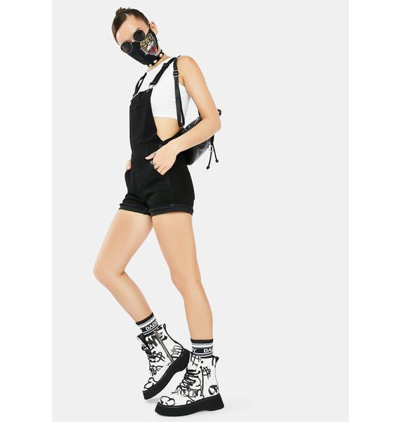 Just Black Denim Little Black Shortall