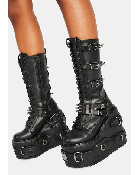 Blister Combat Boots