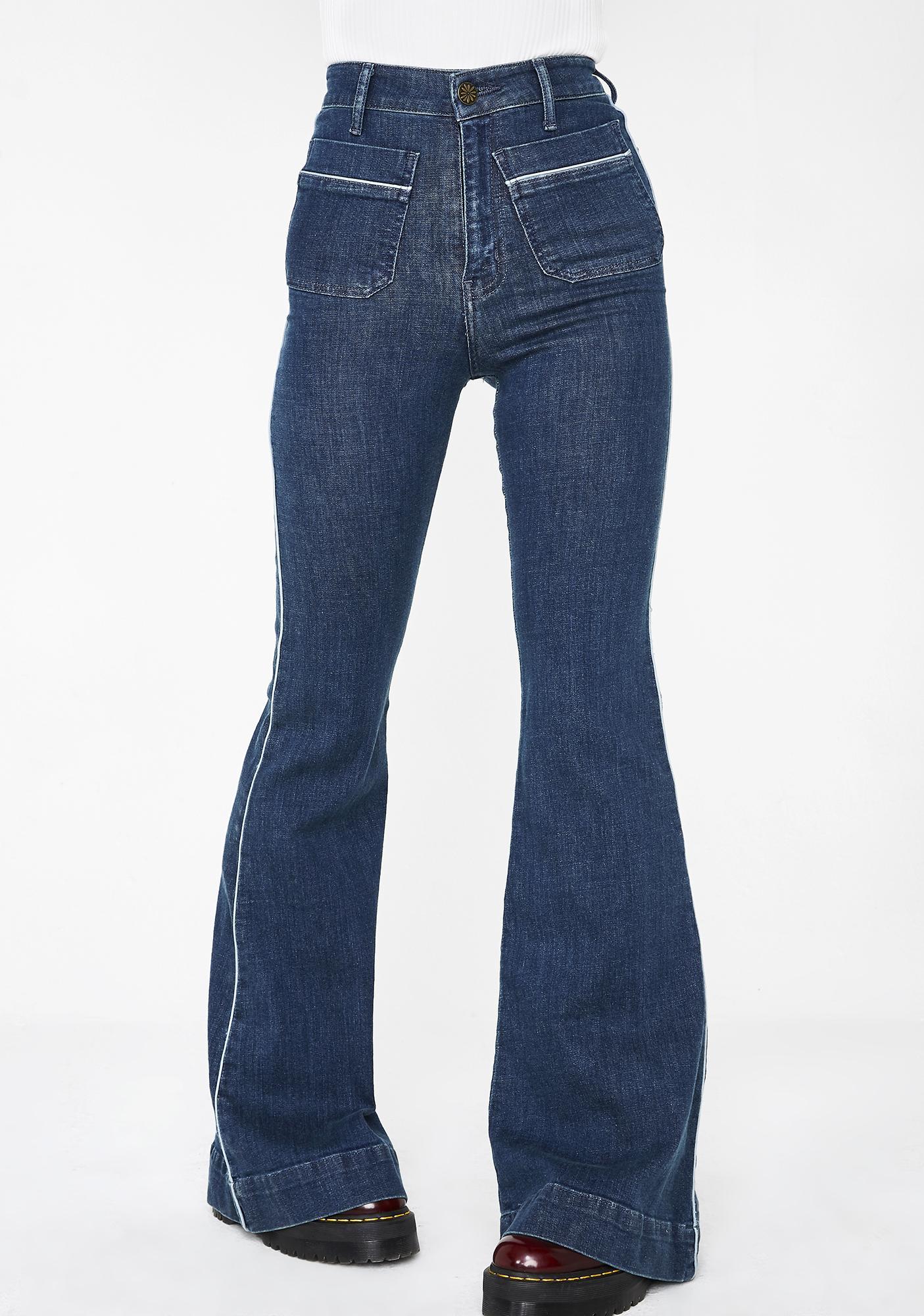 Show Me Your Mumu Farrah Trouser Flare Pants