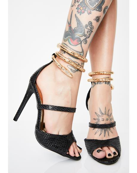 Sabotage Snake Heels