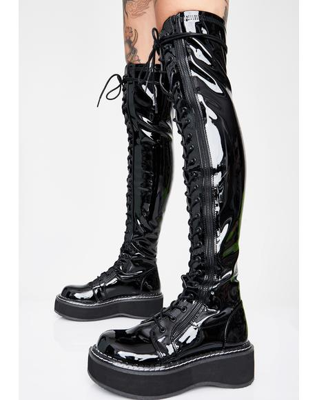 Grand Stand Knee High Boots