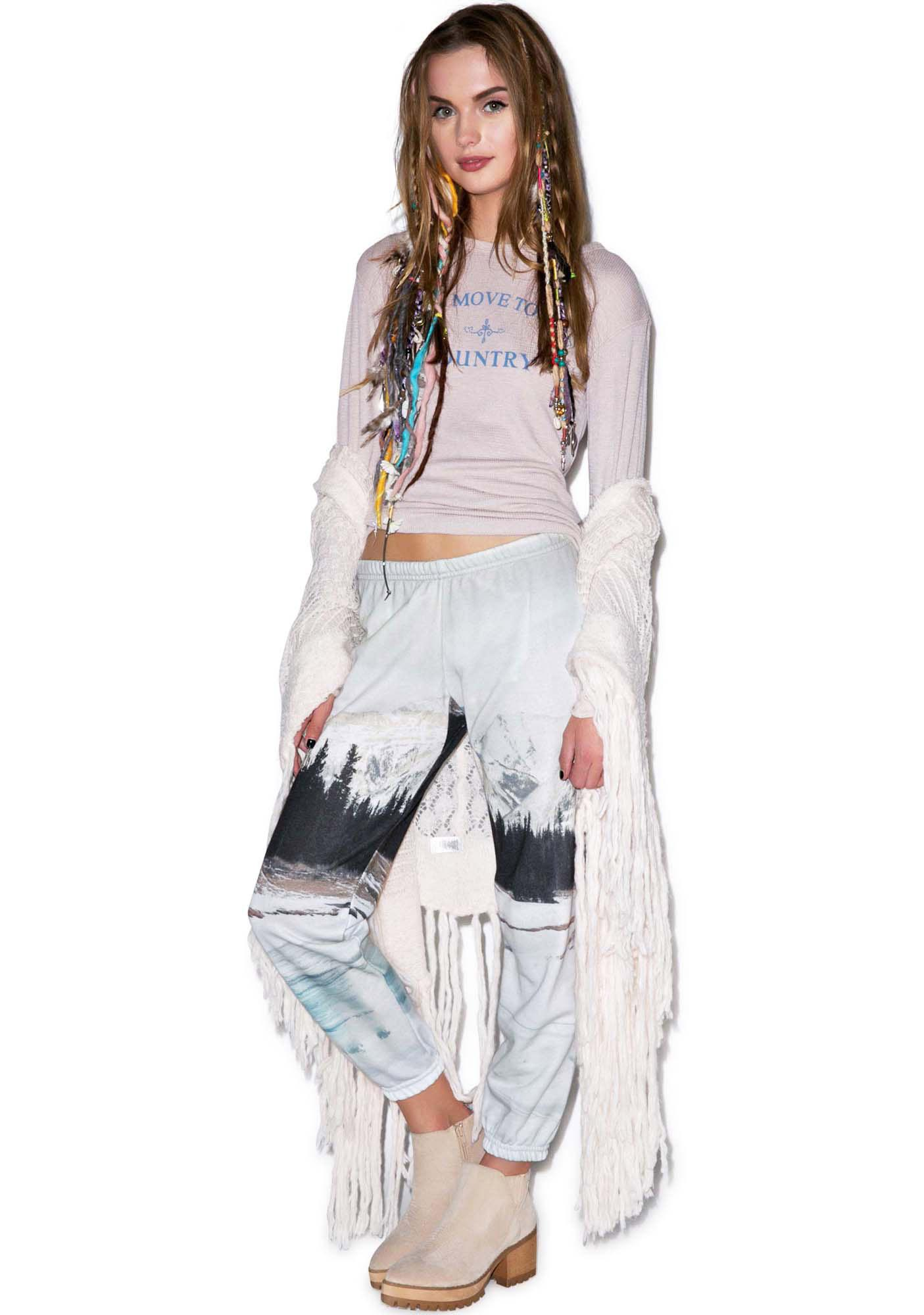 All Things Fabulous Frozen Lake Sweats