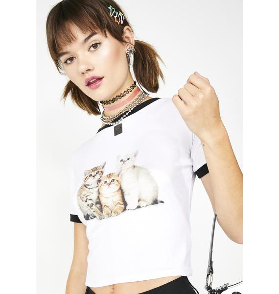 dELiA*s by Dolls Kill Kitty Love Baby Tee
