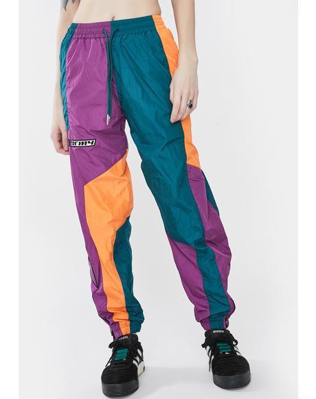 Acknowledge Color Block Track Pants