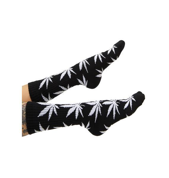 HUF Dark Soul Plantlife Crew Sock