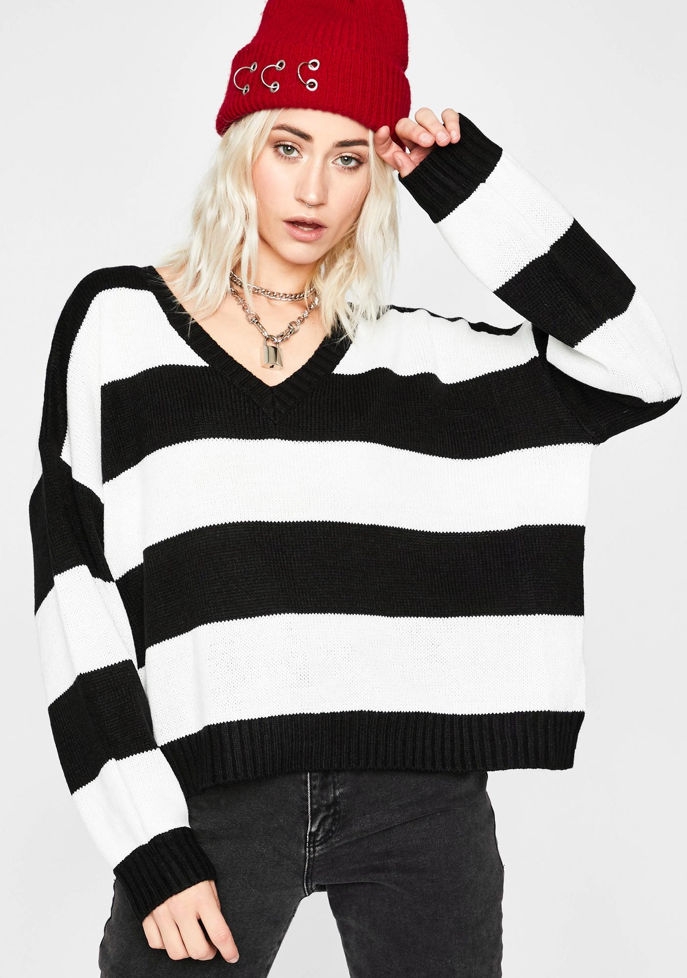 The Sass is Strong with This One Knitted Sweaters Pullover for Teenager Girls