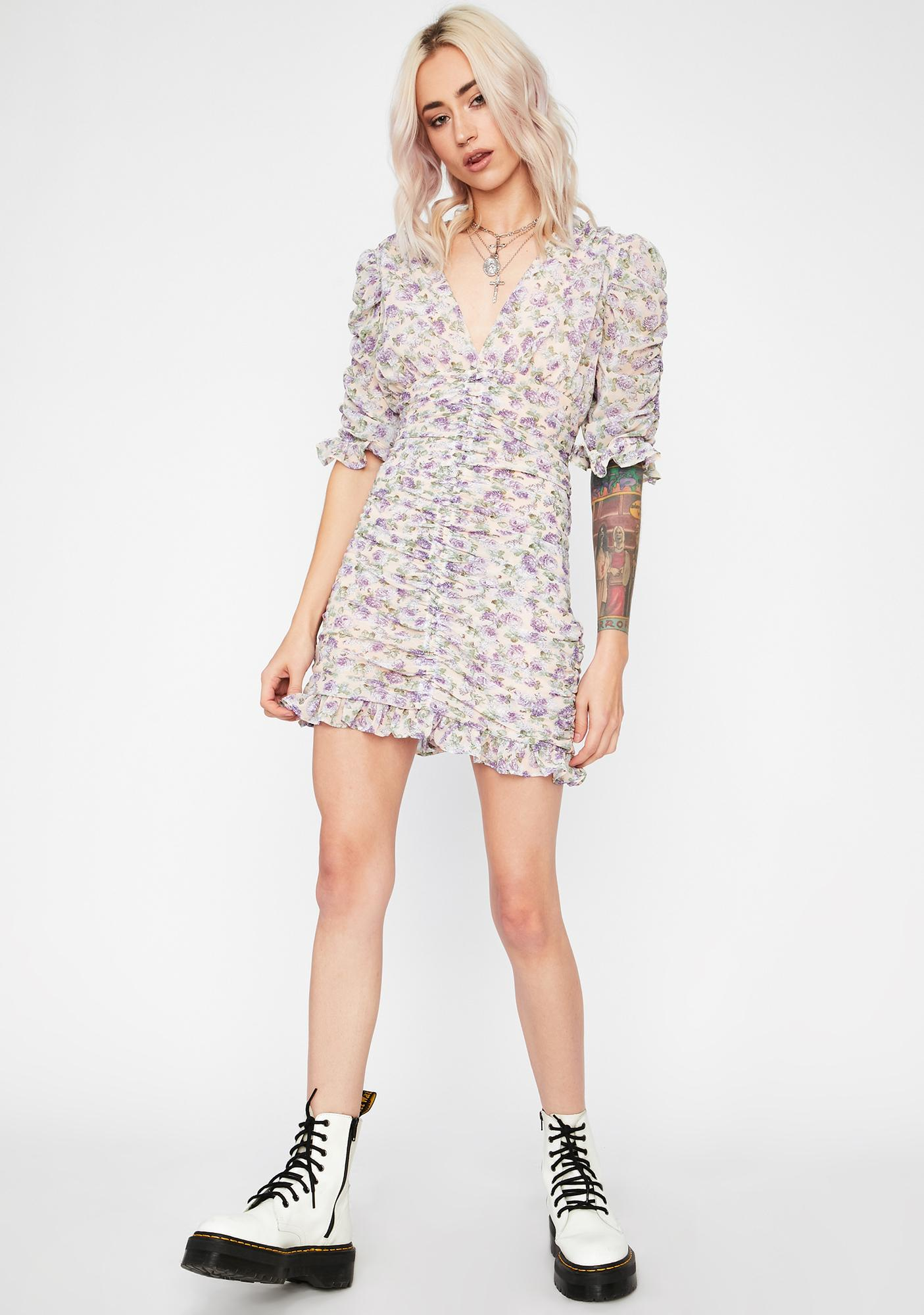 Bumble BB Ruched Dress