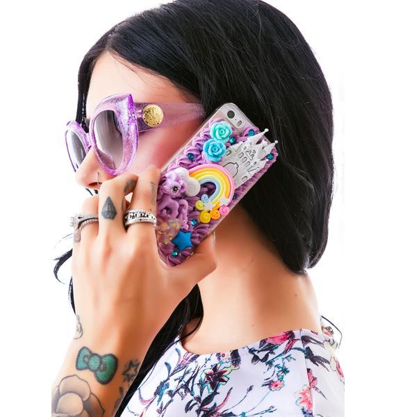 Rainbow Pony iPhone 5 Case