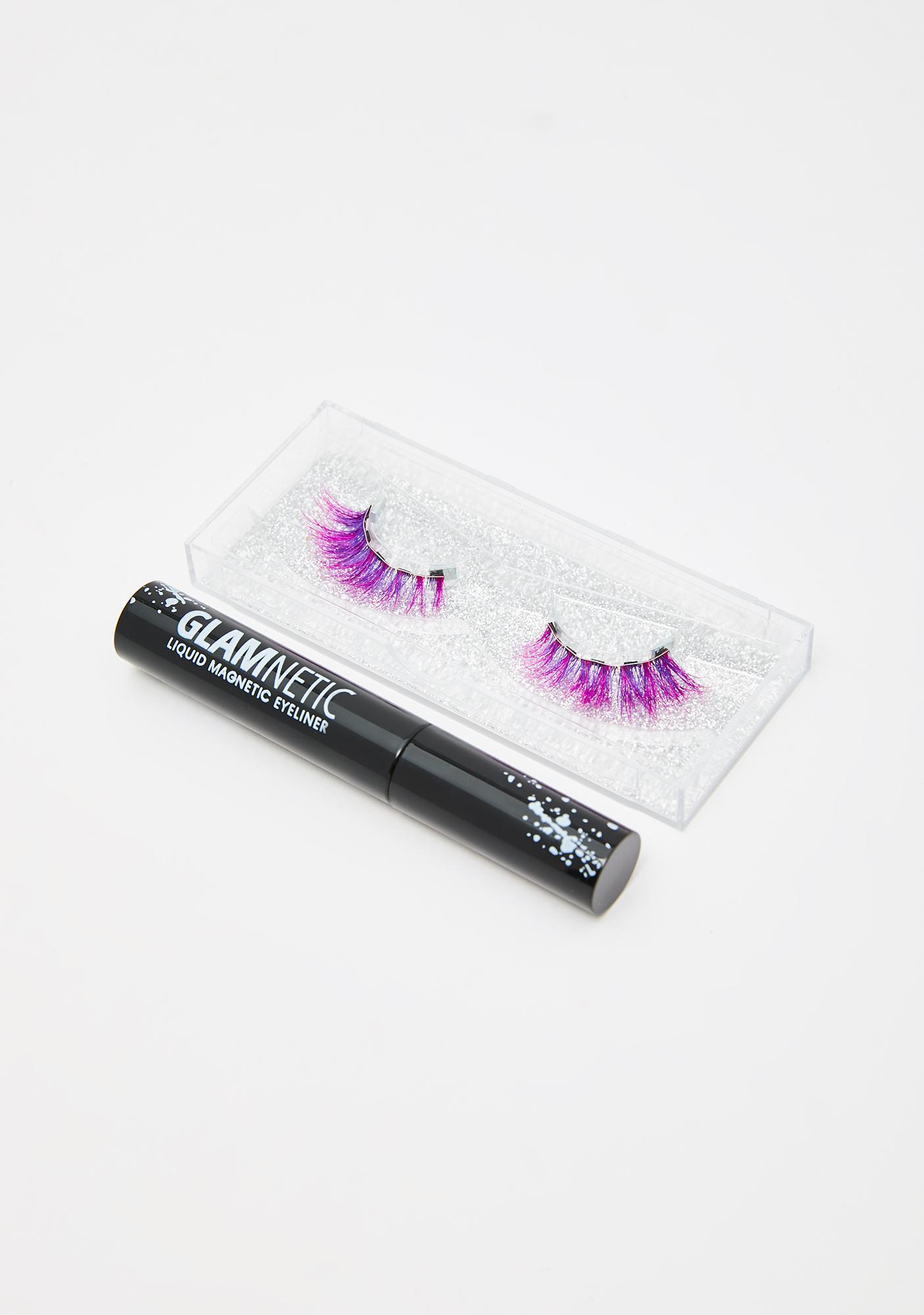 Glamnetic EcstasyX Pink Magnetic Lashes