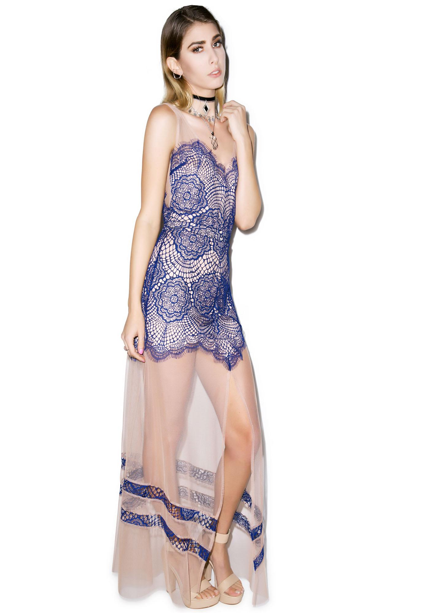 For Love & Lemons Antigua Maxi Dress